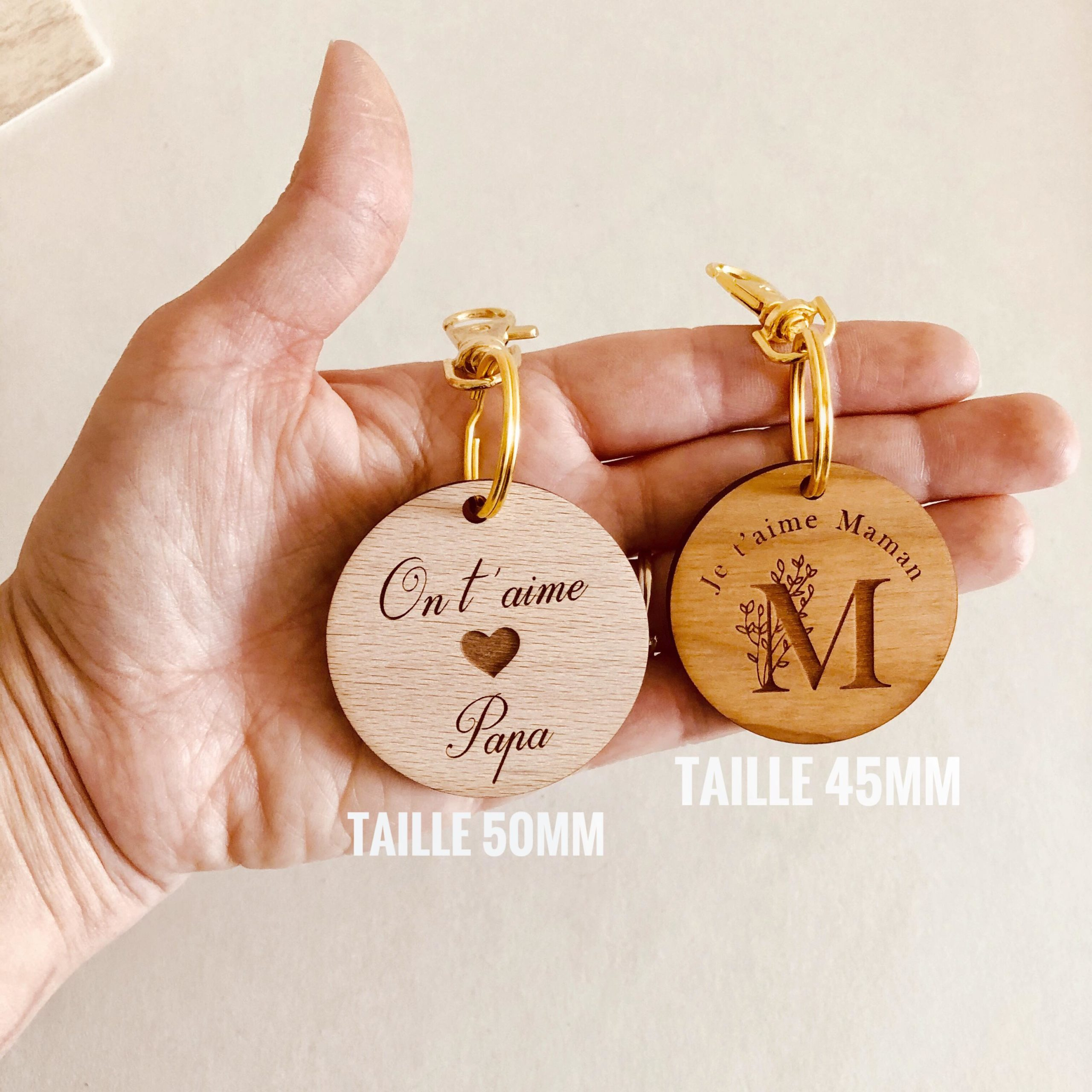 Taille Porte Cles
